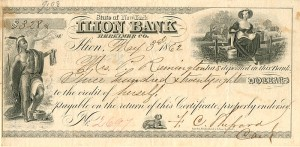 Check Issued to Mrs. P (Philo) Remington