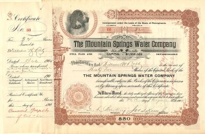Mountain Springs Water Company