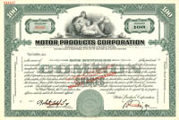 Motor Products Corporation