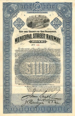 Municipal Street Railway - SOLD