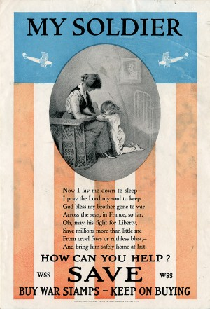 WWI Ad for War Stamps - SOLD