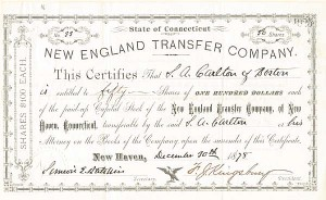 New England Transfer Company