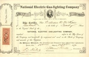 National Electric Gas-Lighting Company