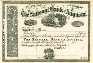 National Bank of Augusta - SOLD