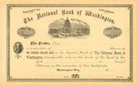 National Bank of Washington