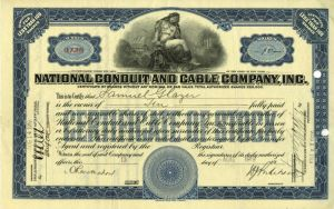 National Conduit and Cable Company, Inc - SOLD