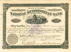 National Metropolitan Bank of Washington
