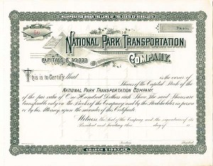 National Park Transportation Company