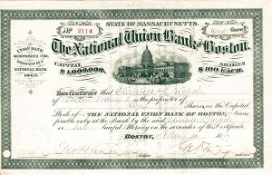 National Union Bank of Boston