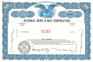 National Bowl-O-Mat Corporation