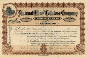 National Fiber and Cellulose Company