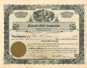 National Gold Corporation