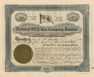 National Oil & Gas Company, Limited