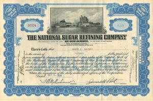 National Sugar Refining Company - SOLD