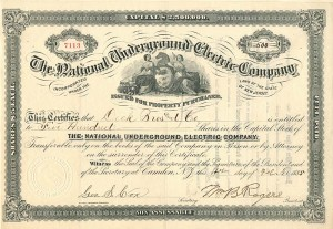 National Underground Electric Company