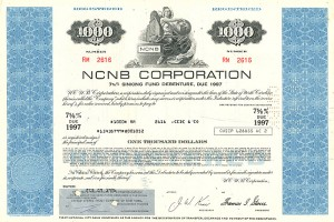 NCNB Corporation - SOLD