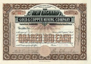 New England Gold & Copper Mining Company