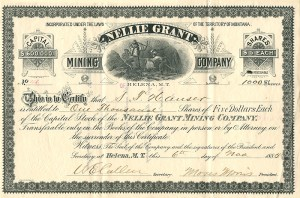 Nellie Grant Mining Company