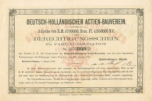 Deutsch-Hollandischer Actien-Bauverein