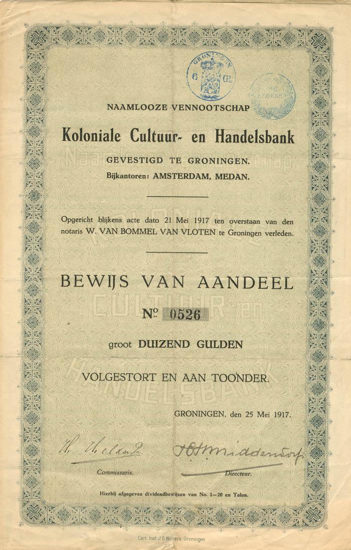 Koloniale Cultuur- en Handelsbank