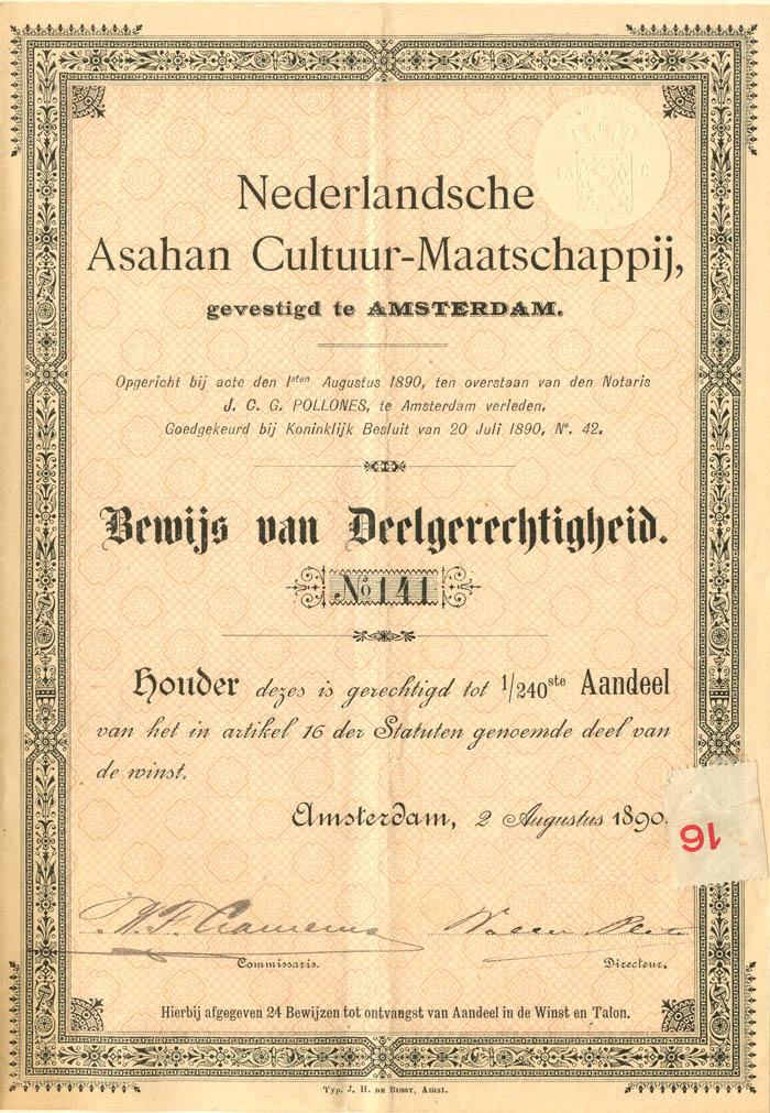 Nederlandsche Asahan Cultuur-Maatschappij