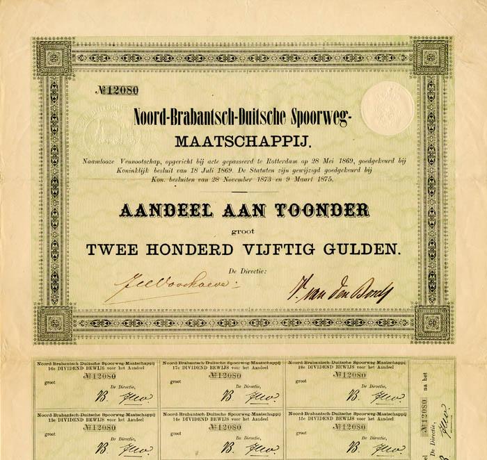 Noord-Brabantsch-Duitsche Spoorweg-Maatschappij