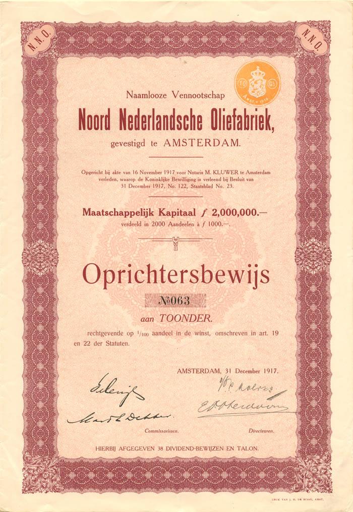 Noord Nederlandsche Oliefabriek