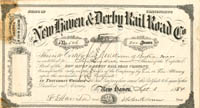 New Haven & Derby Rail Road Co. - SOLD