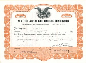 New York-Alaska Gold Dredging Corporation