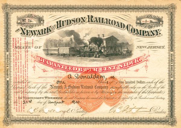 Newark and Hudson Railroad