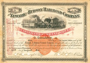 Newark and Hudson Railroad - SOLD