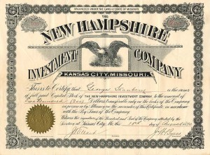 New Hampshire Investment Company - SOLD