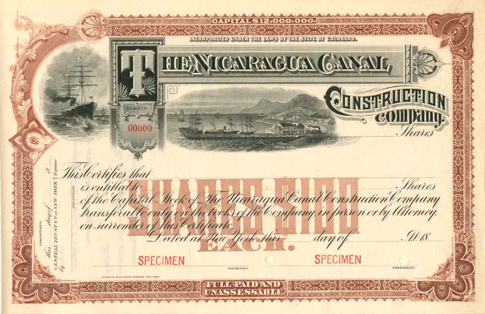 Nicaragua Canal Construction Company