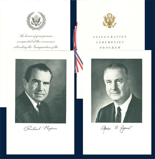 Nixon Inaugural Invitation - 1969