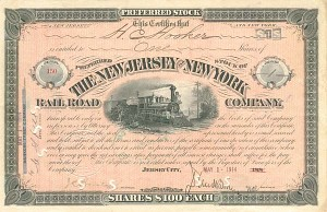 New Jersey and New York Railroad Company