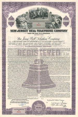 New Jersey Bell Telephone Company - SOLD