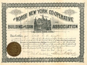 North New York Co-Operative Building and Loan Association of New York City