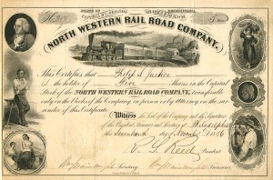 North Western Railroad Company - SOLD