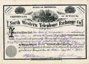 North Western Telephone Exchange Co. - SOLD