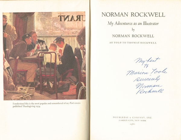 Norman Rockwell - My Adventures as an Illustrator
