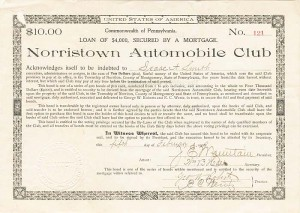 Norristown Automobile Club - SOLD