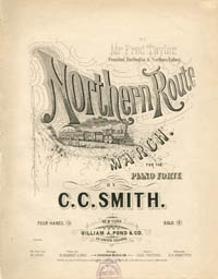 Northern Route Music Sheet