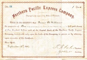 Northern Pacific Express Company