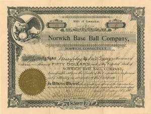 Norwich Base Ball Company