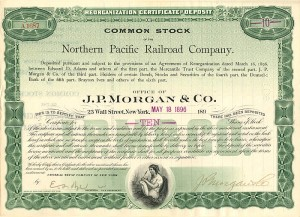 Northern Pacific Railroad Company - SOLD