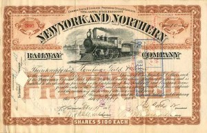 New York & Northern Railway Company