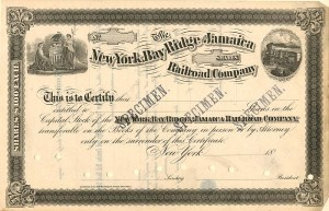 New York, Bay Ridge and Jamaica Railroad Company - SOLD