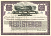 New York Central Railroad Company - $50,000