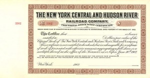 New York Central and Hudson River Railroad Company