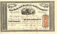 New York and Renfrew Gold Company - SOLD